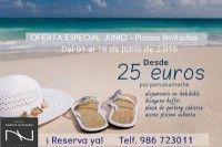 Hoteles spa en Sanxenxo Galicia. Hotel Nuevo Vichona.