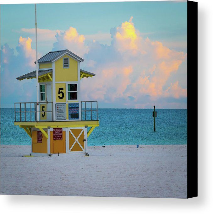 Canvas Wall Art Clearwater Beach Florida Museum Quality Prints