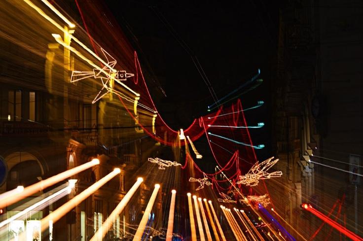 Luci d'artista a #Torino. Volo su..., Francesco Casorati #lucidartista
