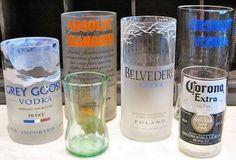 Cómo CORTAR una botella de vidrio con un HILO para hacer VASOS. Con estas sencillas instrucciones puedes transformar botellas vacías en vasos, ceniceros, floreros y tazas. Botellas de vino, botellas de licores, botellas de aceites vegetales puros. ¿Cuántas desechas al año? El consumo de estos productos nos ofrece envases de vidrio que, por lo regular, ...