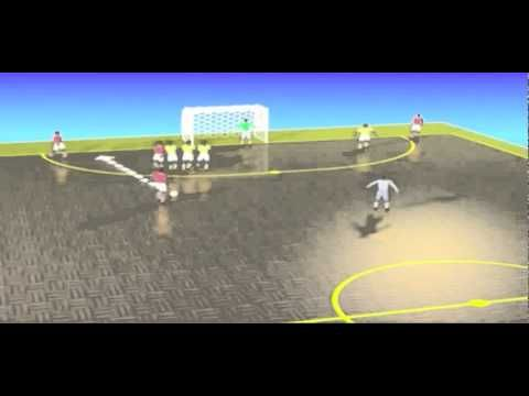 Tactical Training - Set plays from free kicks.flv