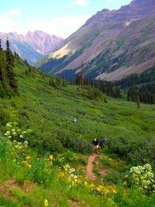 Hiking from Aspen to Crested Butte, Colorado