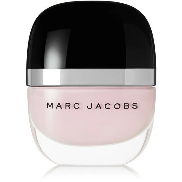 Marc Jacobs Beauty Enamored Hi-Shine Nail Lacquer - Resurrection (9.980 CRC) ❤ liked on Polyvore featuring beauty products, nail care, nail polish, makeup, filler, nails, pastel pink, marc jacobs, shiny nail polish and glossy nail polish