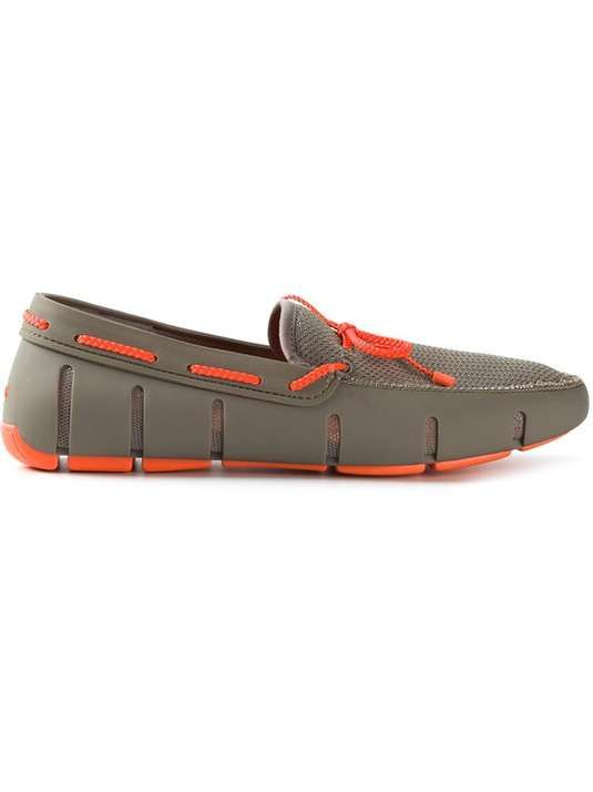 Gorgeous SWIMS mens SPORT LOAFER BLACKGREY Loaferst