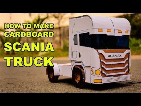 How to Create Cardboard Scania R730 - Cara Membuat Scania