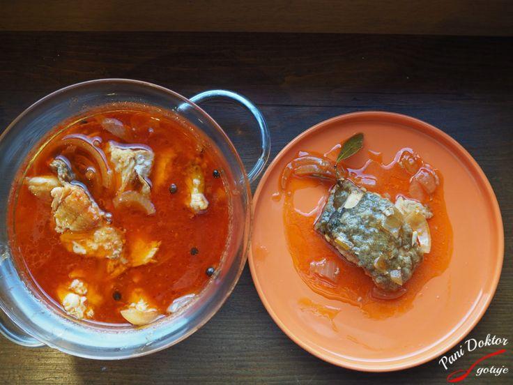 Ryba w pomidorowej zalewie - Pani Doktor gotuje