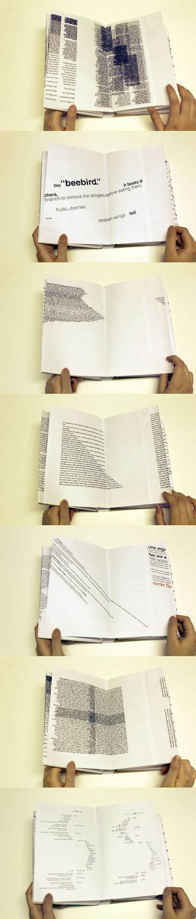 Autor / Texto / Lector. Erica Kitamura Book Design: Experimental Typography…