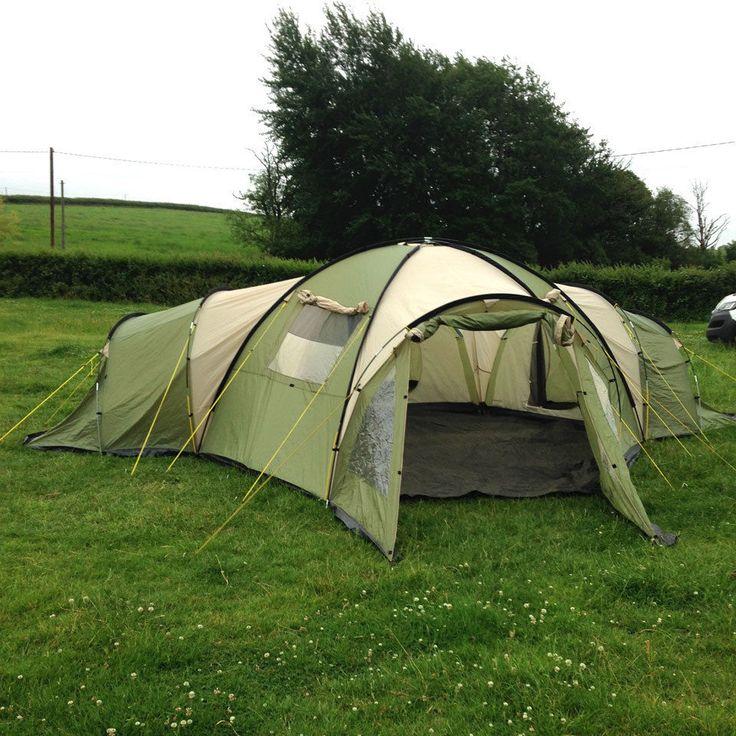 Skandika Korsika 10 Man 3 Bedroom Tent with Living Area Family/Festival C&ing  sc 1 st  Pinterest & 69 best TentHappy on eBay (Sold Items) images on Pinterest ...