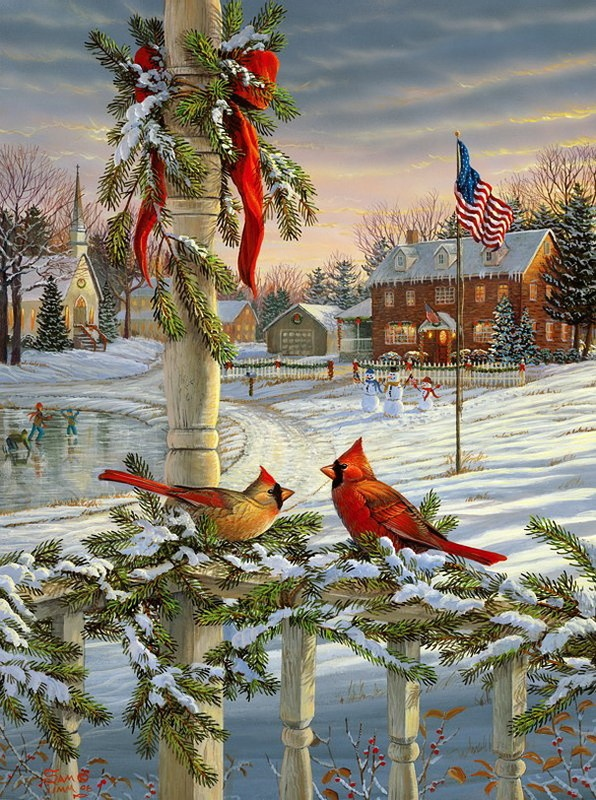 wildlife artist SAM TIMM...Cardinals--especially male, were special to my son, who has passed on.                                                                                                                                                      Plus