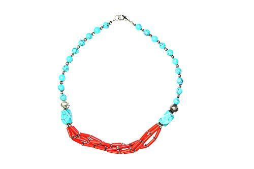 Boho Jewelry turquoise coral Beads Pendent Necklace - Han... https://www.amazon.ca/dp/B01LWPE4I6/ref=cm_sw_r_pi_dp_x_N-17xbHTZJWTH