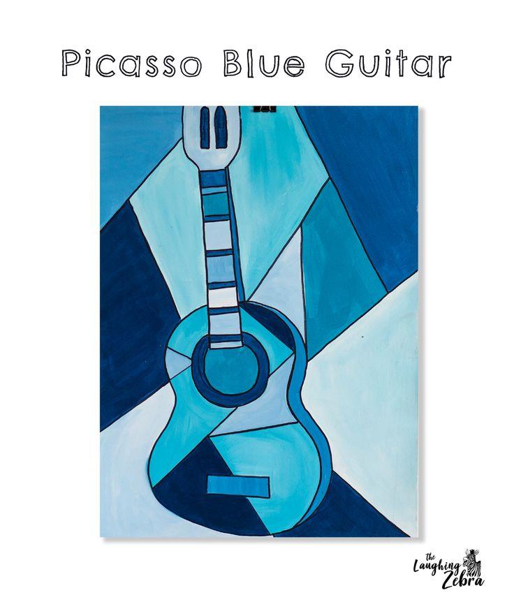 Picasso Blue Guitar in 2020 | Picasso blue, Picasso ...