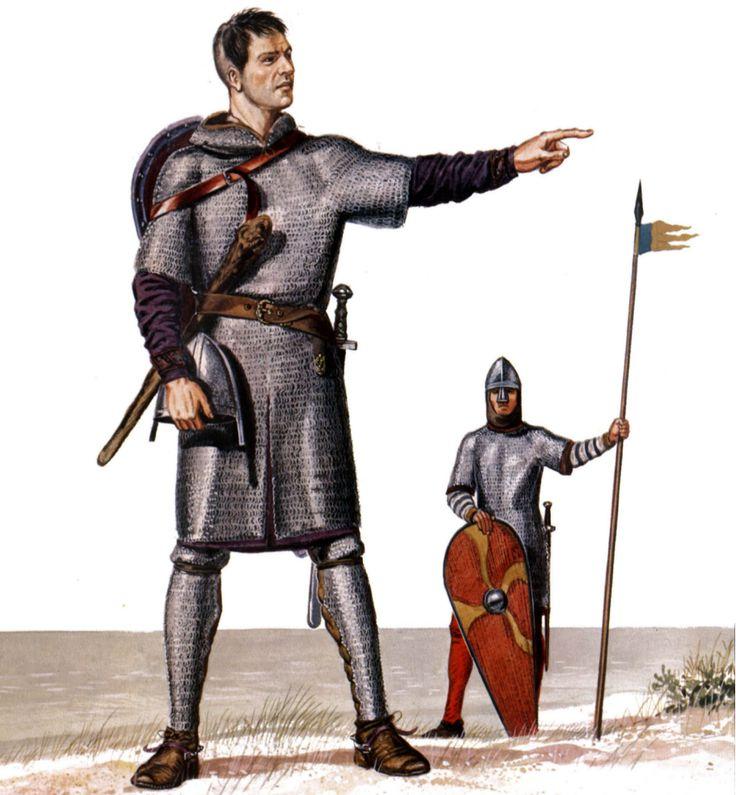 El ejército normando - Arre caballo!