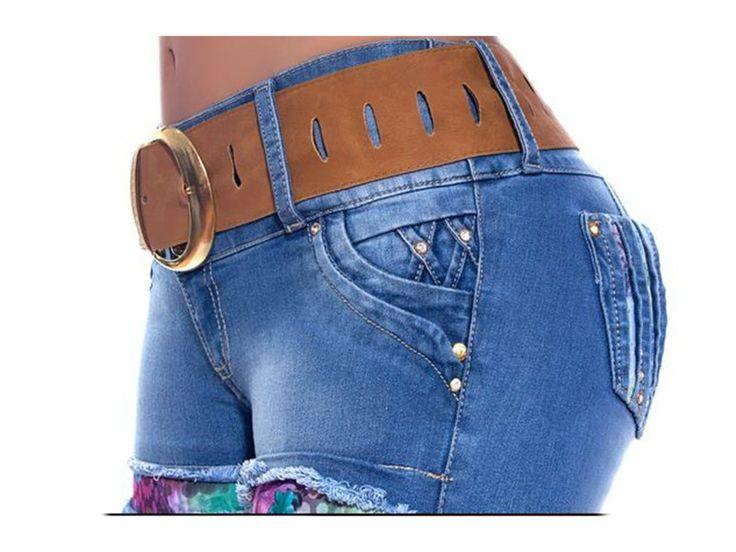 Vaquero jeans importación directa Push up Colombianos, son ampliamente conocidos por el efecto pum-up que incorporan un nuevo estilo gracias al diseño de pinzas laterales, creamos un patrón exclusivo para controlar el abdomen y dar un aspecto de vientre extraplano, y en la parte trasera acaba creando una copa modeladora. Unicamente en hadabella.com