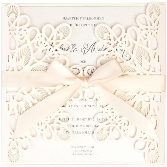 Matrimony Inbjudningskort från Calligraphen #lasercut #laserskuret #inbjudan #inbjudningskort #stationary #wedding #bröllop #bryllup #invitasjon
