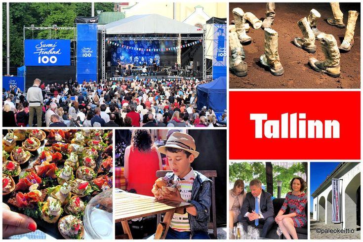 Kun emäntä tapasi Tallinnan -toistamiseen! /// Takana upea matka aurinkoiseen Tallinnaan! Tallinnassa juhlittiin 100-vuotiasta Suomea monin eri menoin – oli katuruokaa, näyttelyavajaista, ilmaiskonserttia ym. mukavaa. Ja paljon hyvää ruok…