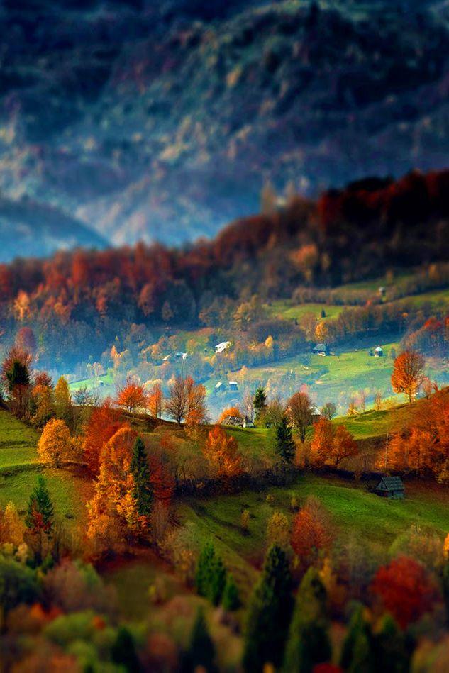 Transylvanian Landscape -- photo by Robciuc Alex