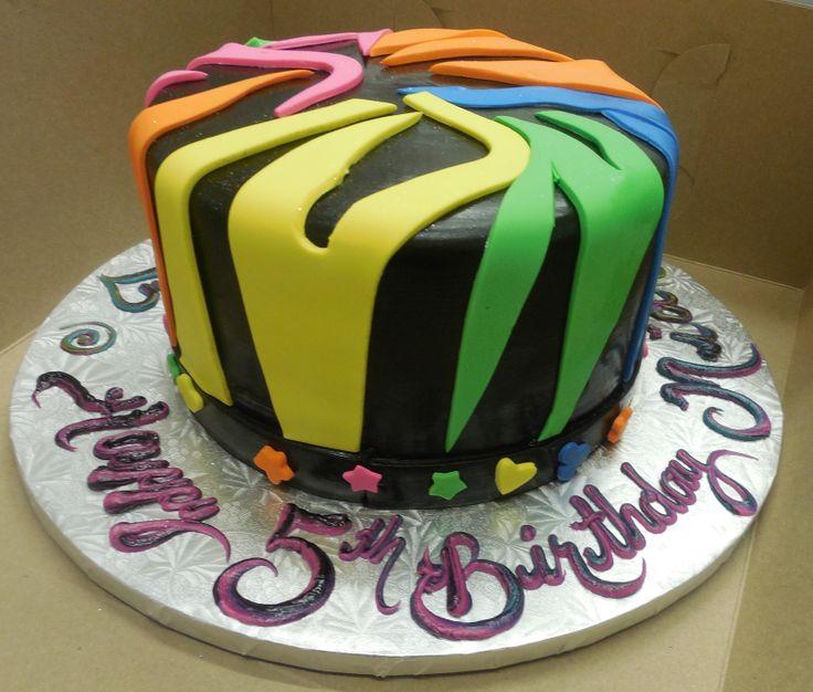 Pictures Zebra Print Birthday Cakes
