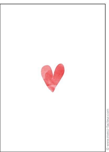 Souhaitez une joyeuse St Valentin avec une jolie carte ❤️  http://www.merci-facteur.com/cartes/rub19-amour-et-saint-valentin.html #carte #amour #StValentin #Love #fleurs #Jetaime #lundi #coeur #jetaime #iloveyou #valentinsday #flowers #amor #SanValentin Carte Un simple et beau coeur pour envoyer par La Poste, sur Merci-Facteur !
