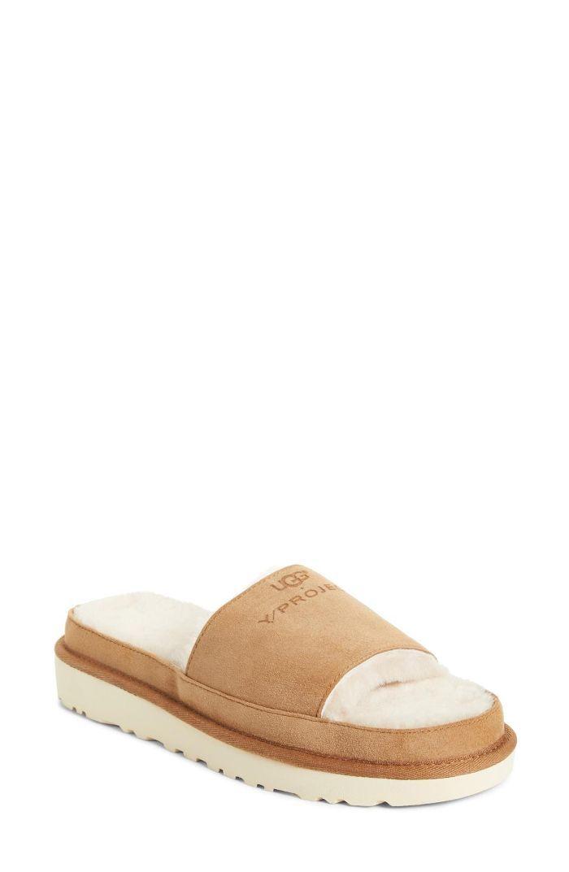 1bd632e8ed0 Y / PROJECT x Ugg Genuine Shearling Slide Sandals | Shopping List ...