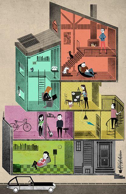 Nuevas Familias | by Eva Vazquez Dibujos