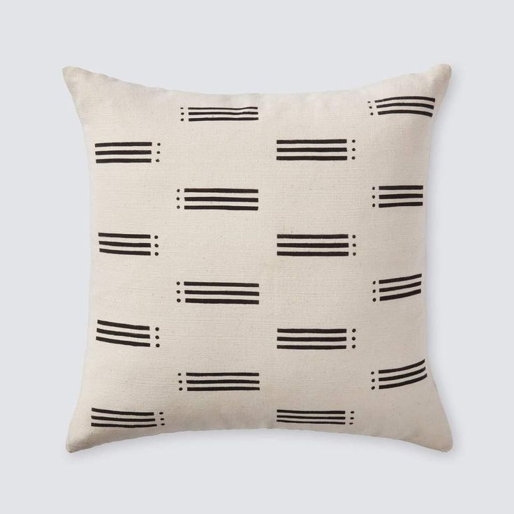 Modern Mud Cloth Throw Pillows   Handcrafted in Africa – The Citizenry