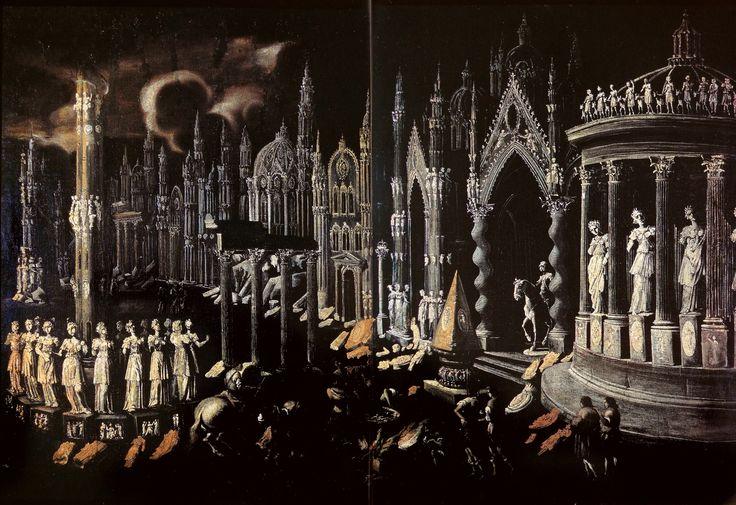 """"""" François de Nomé early 17th century 'The Martyrdom of Saint John the Evangelist' """""""