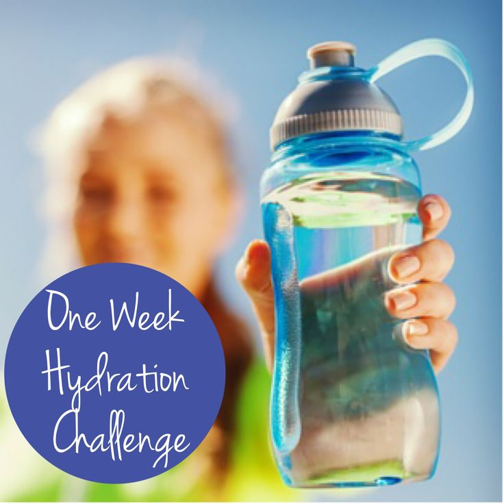 Are you drinking enough water? Join the challenge!