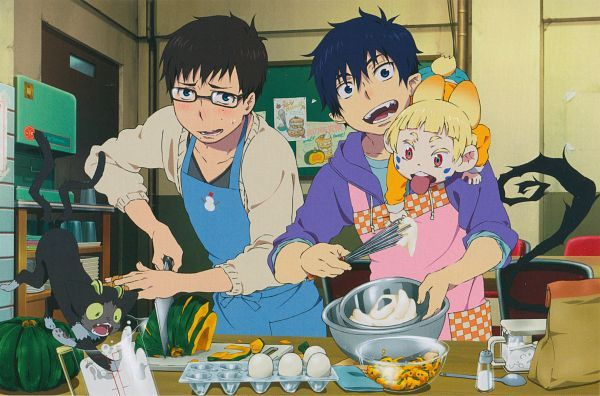 Cooking! #AonoExorcist #anime