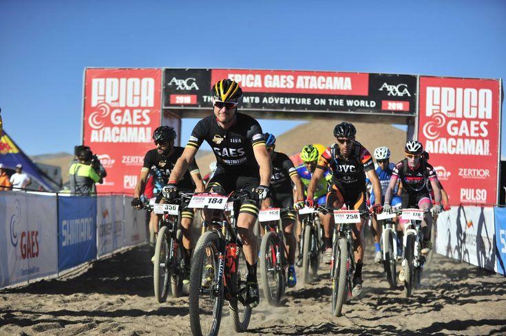 Vitor Gamito vence a categoria Master 40 da Epica MTB Raid Atacama 2016, Considerada uma das provas mais duras de mountain bike do mundo