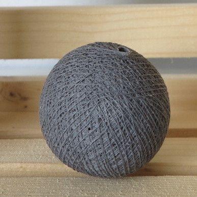 Harmaa valopallo - myös yksi tykätyimpiä valopallo värejä. Varma valinta myös lahjaksi.   http://www.valopallot.fi/product/97/valopallo-harmaa-5-kpl