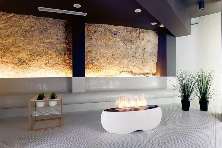ZEN by Planika www.planikafires.com www.facebook.com/planikafire  #fireplace #poziom511 #hotel #spa #kominek