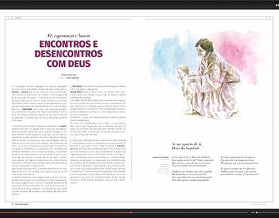 """Check out new work on my @Behance portfolio: """"Ilustração """"Encontros e Desencontros com Deus"""""""" http://be.net/gallery/47007491/Ilustracao-Encontros-e-Desencontros-com-Deus"""
