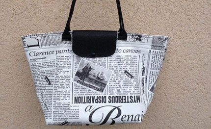 """Tuto grand sac façon """"Pliage"""" de Longchamps - Partout A Tiss - Blog de la couture astuces et inspirations"""
