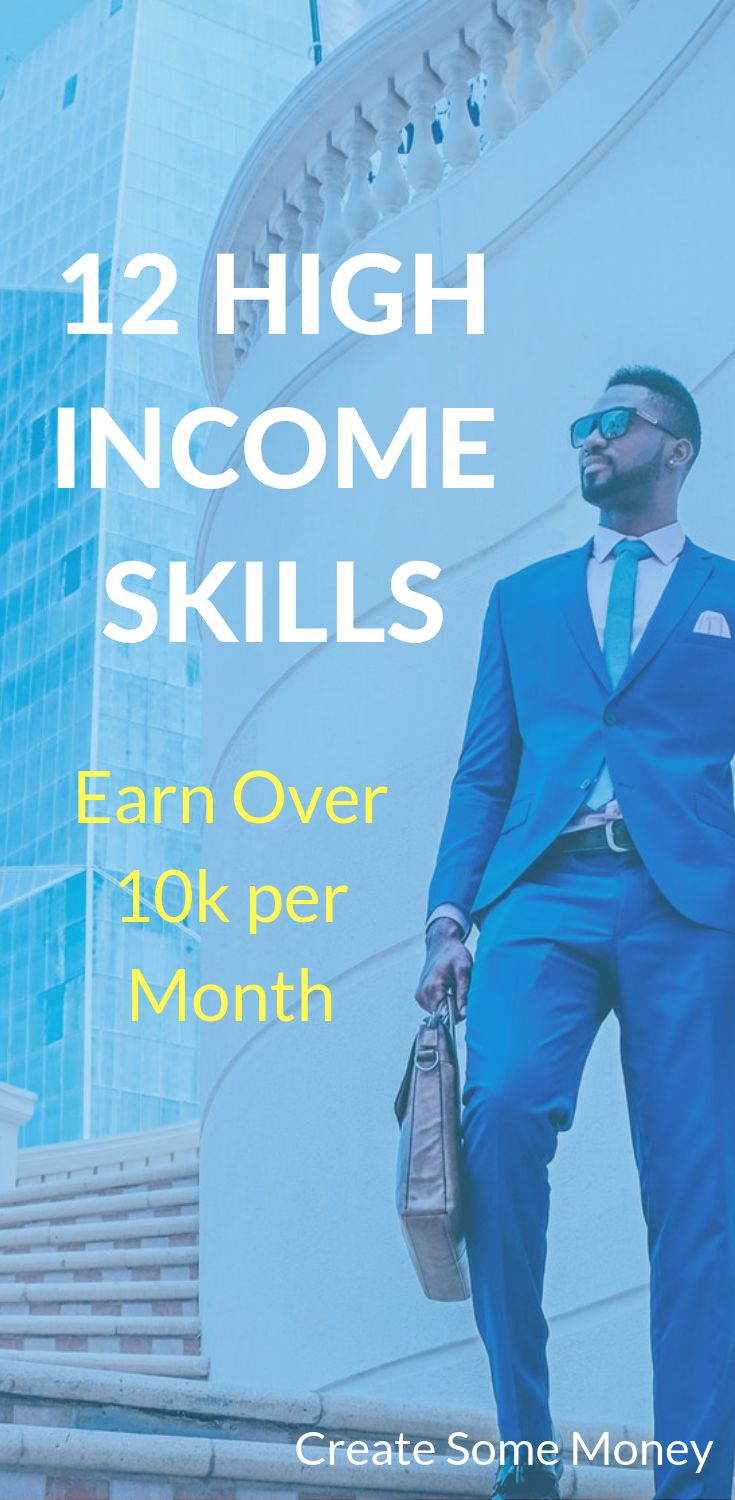 Earn over 10k per money using these high paying jobs, high income skills, high p…