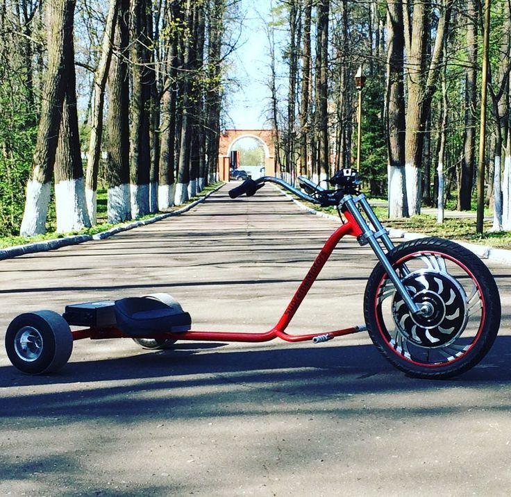 Electric drift trike by SupremeMotors.ru