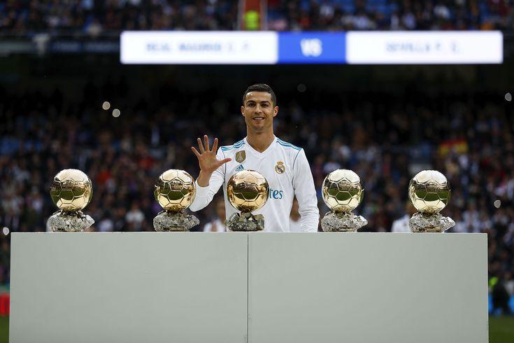 Cristiano Ronaldo logra su quinto Balón de Oro (antes había ganado el premio The Best)