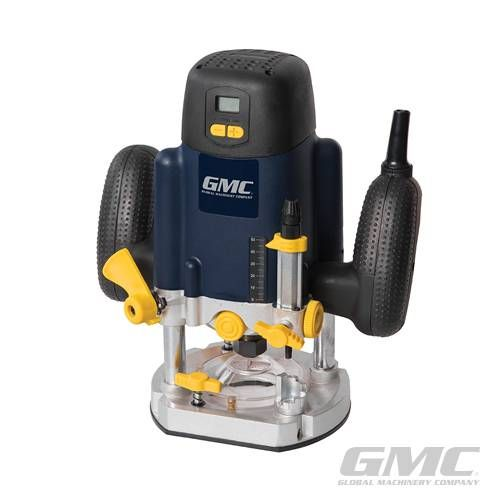 Plunge Router?Electronic 18-step speed control up to 27,000rpm with soft start and constant speed under load. LCD speed display and speed memory...