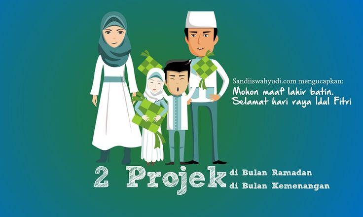 Alhamdulillah Ramadan kali ini mendapatkan 4 projek. 2 projek selesai saat Ramadan. 2 projek video animasi lainnya saat lebaran. Anda berminat? Kontak saya