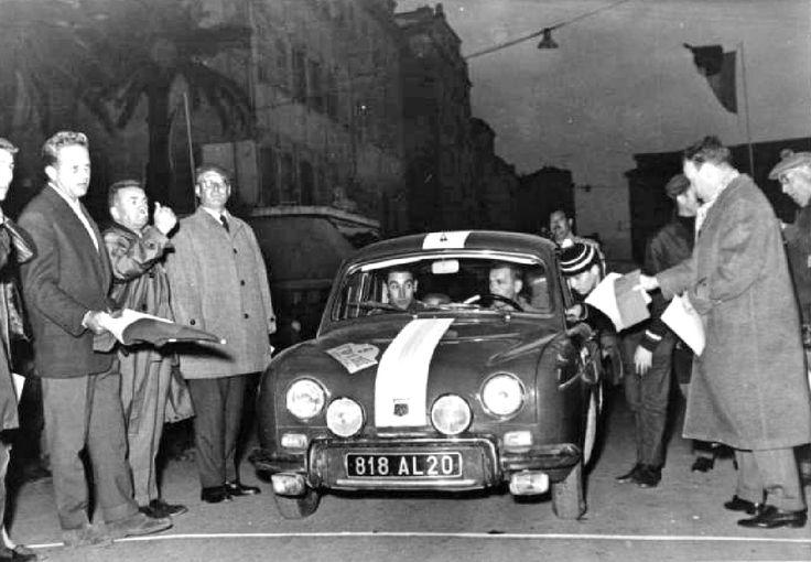 1961 Tour de Corse: Renault Dauphine of Pelicci