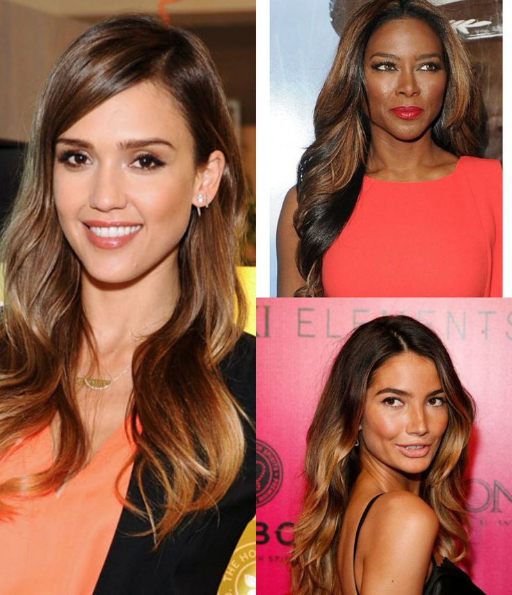 Ombre long wavy  hair for black women   #rpgshowwigs #ombrehair #lacewigs