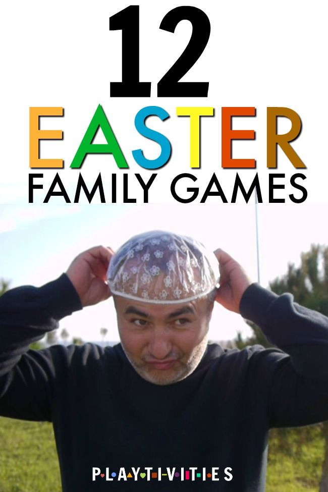 12 Hilarious Easter Games For Family Gatherings. These Easter Games can be played indoors or outdoors. All family will have a blast playing these Family Games.