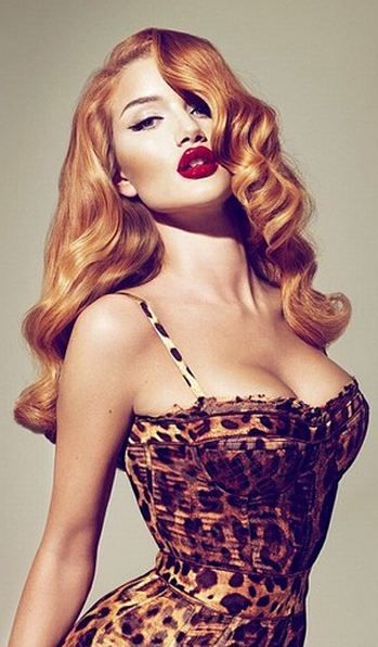 Leopard Corset. This is simply gorgeous. Can't necessarily wear this out to the grocery store though...