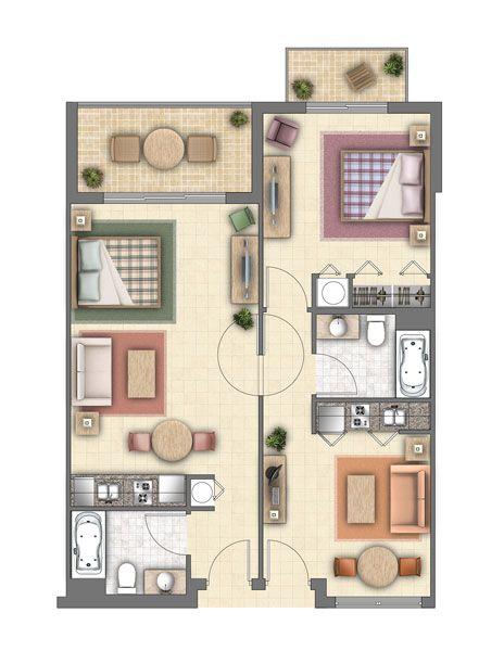 Hotel Room Plan: Hotel Suites Floor Plans - Google Search