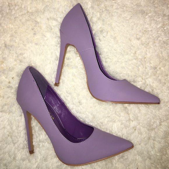 Lavender Heels Brand new size 6.5 lavender heels! From Lola Shoetique. Shoe…