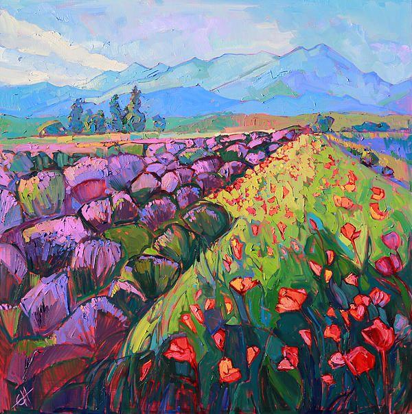 Cascading Lavender - Erin Hanson