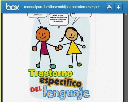 Logopedia en especial: Manual para familias con hijos con trastornos específicos del lenguaje. TEL