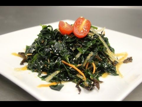 How to Make Seaweed Salad (Wakame Salad) - YouTube