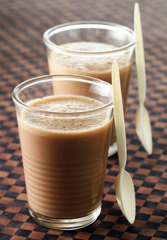 Chocolade-smoothie med chiafrø