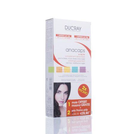 Ducray Anacaps Tri-Activ TRIO: Voedingssupplement voor het haar en de nagels.