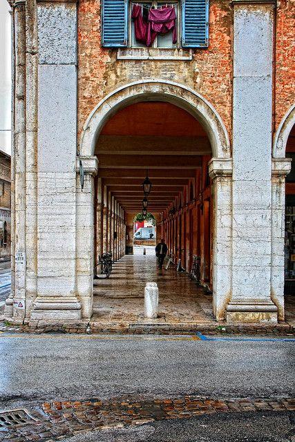 Senigallia, Portici Ercolani (Marche, Italy)